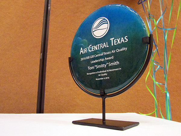 2016 Bill Gill Central Texas Air Quality Leadership Award