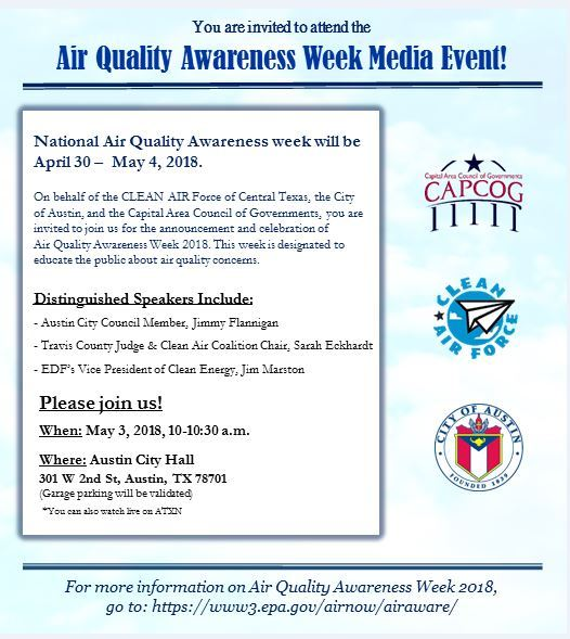 City Of Austin Aqaw Press Event