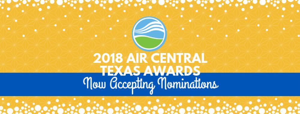 2018 Air Central Texas Awards Banner