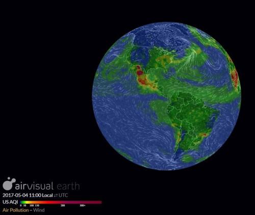 Air Visual Earth