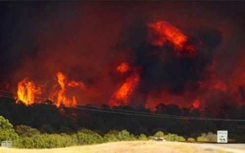 Bastrop Fires